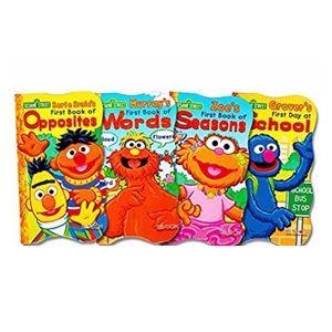Set Of 4 Sesame Street First Board Books NWOT